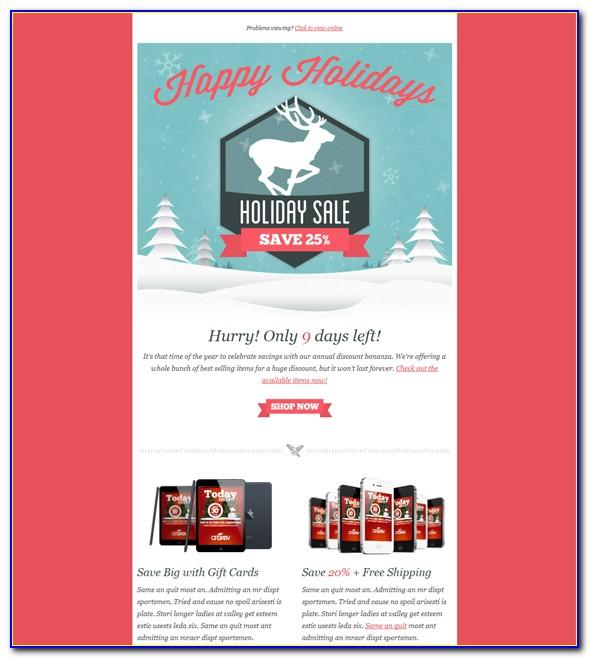 Free Christmas Templates For Mailchimp