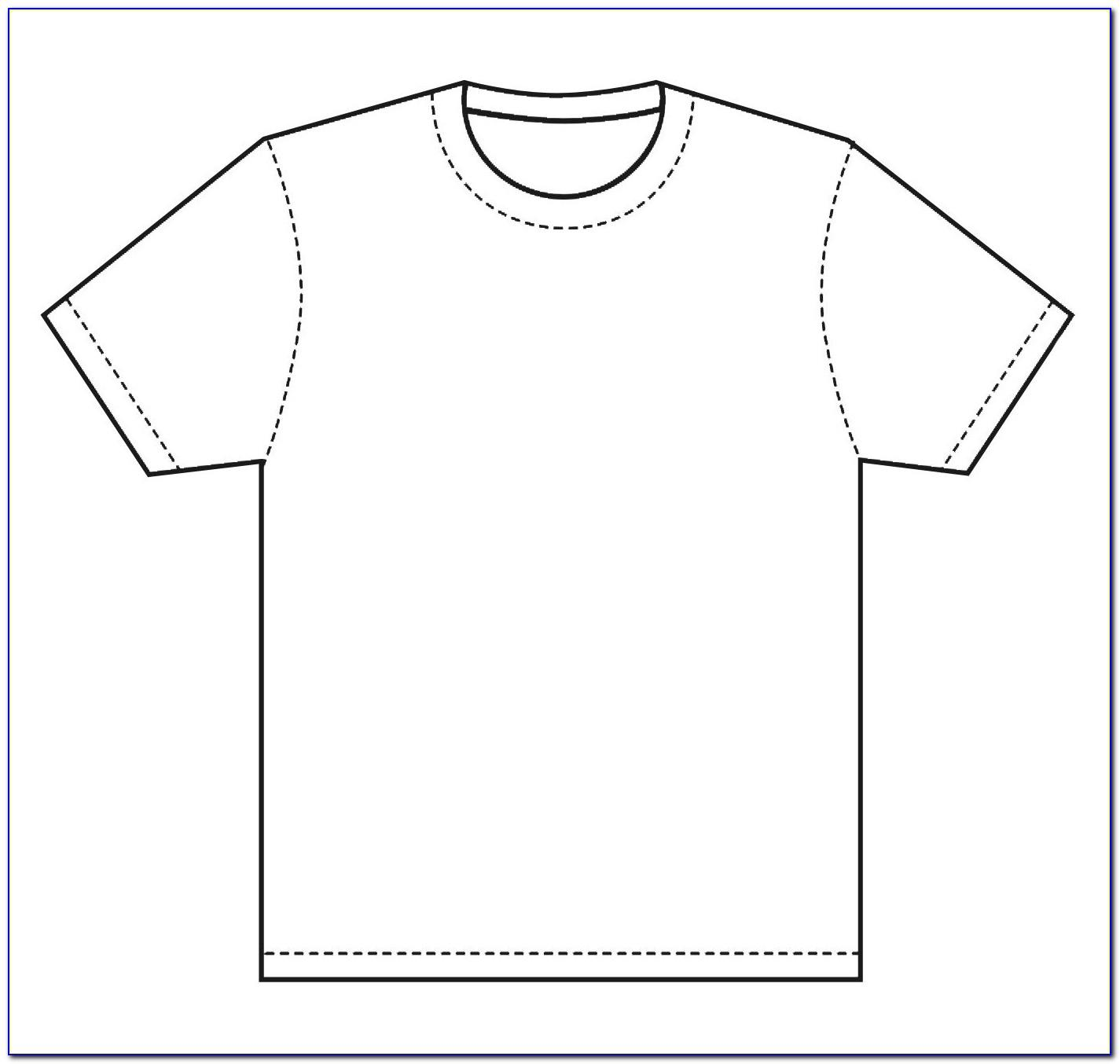 Free Printable T Shirt Design Template