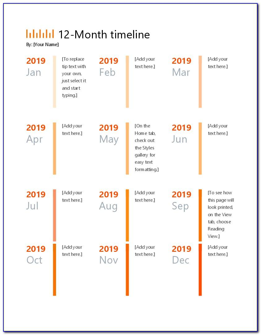 Free Roadmap Timeline Template Ppt