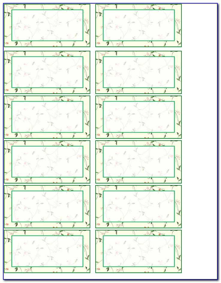 Free Template For Printing Address Labels