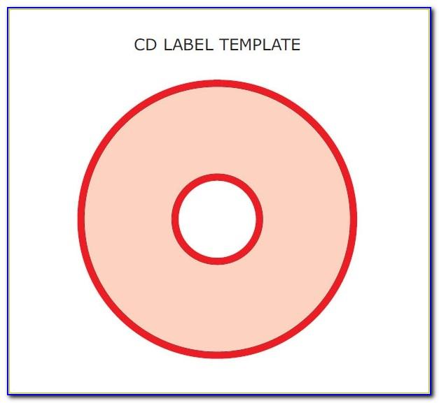 Free Templates For Cd Labels