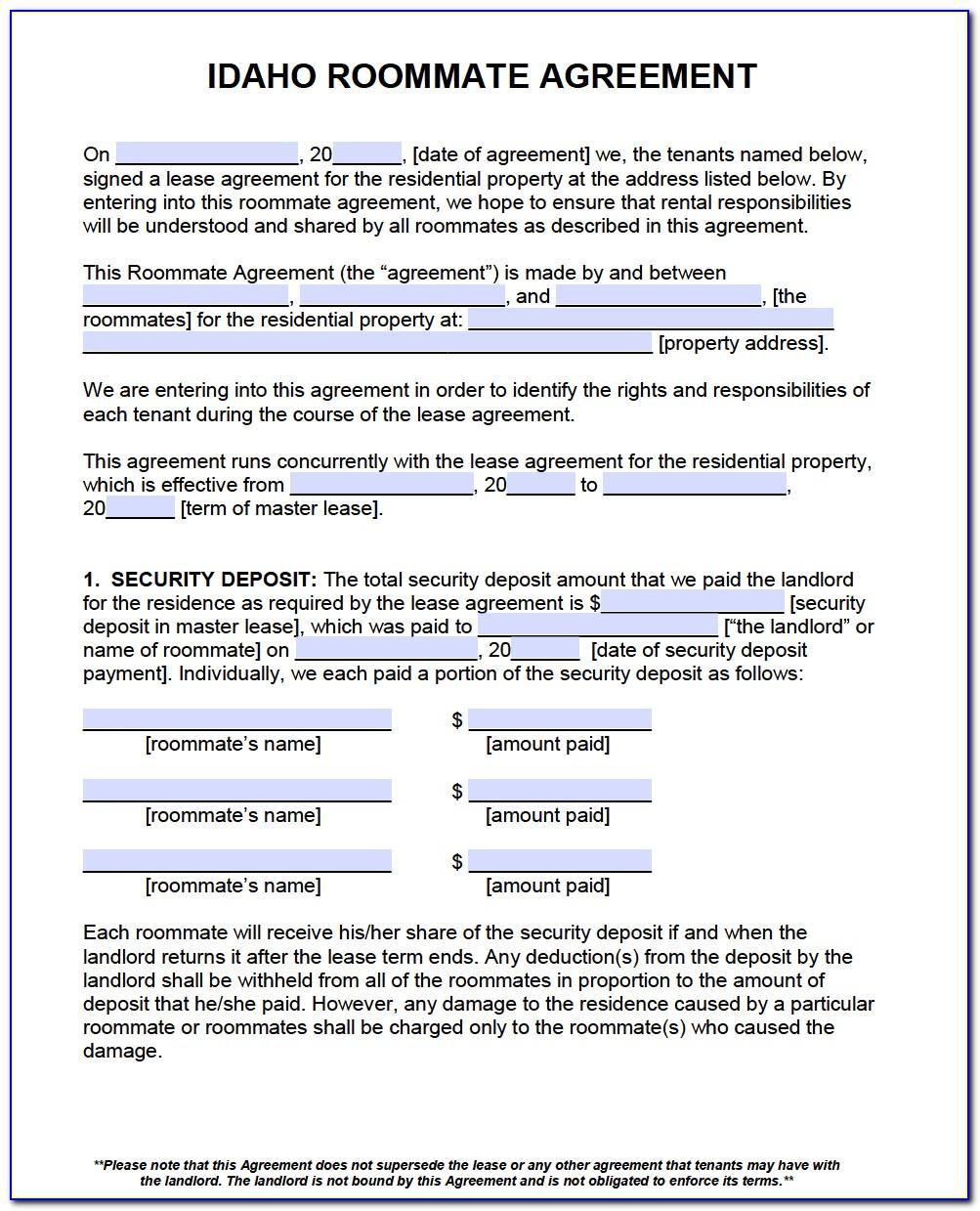 Free Tenancy Agreement Template Word Scotland