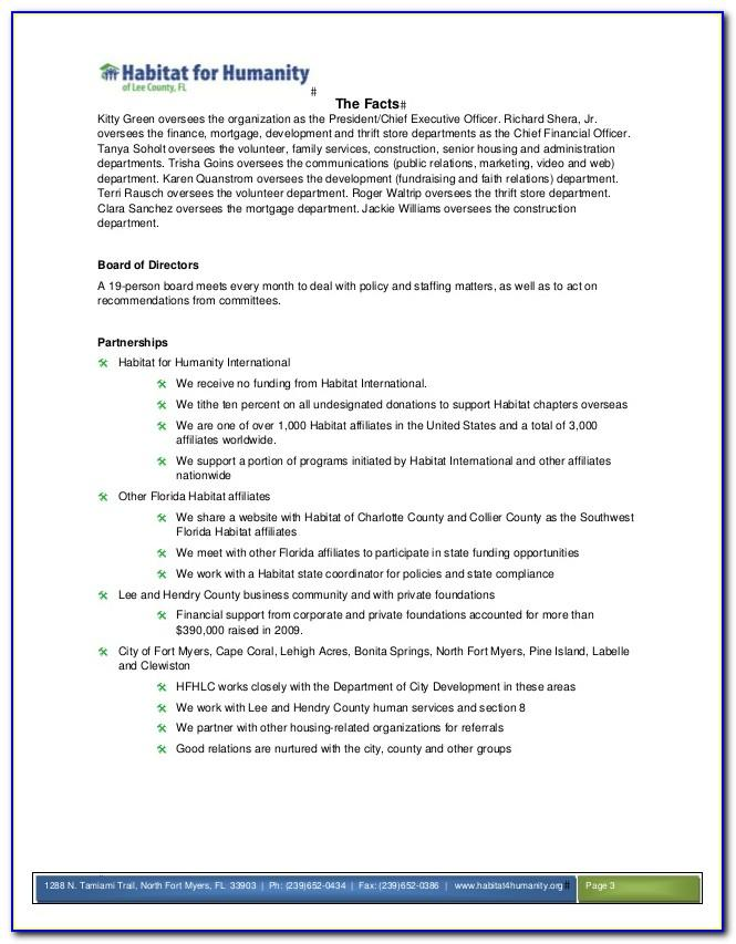 Free Thrift Store Business Plan Template