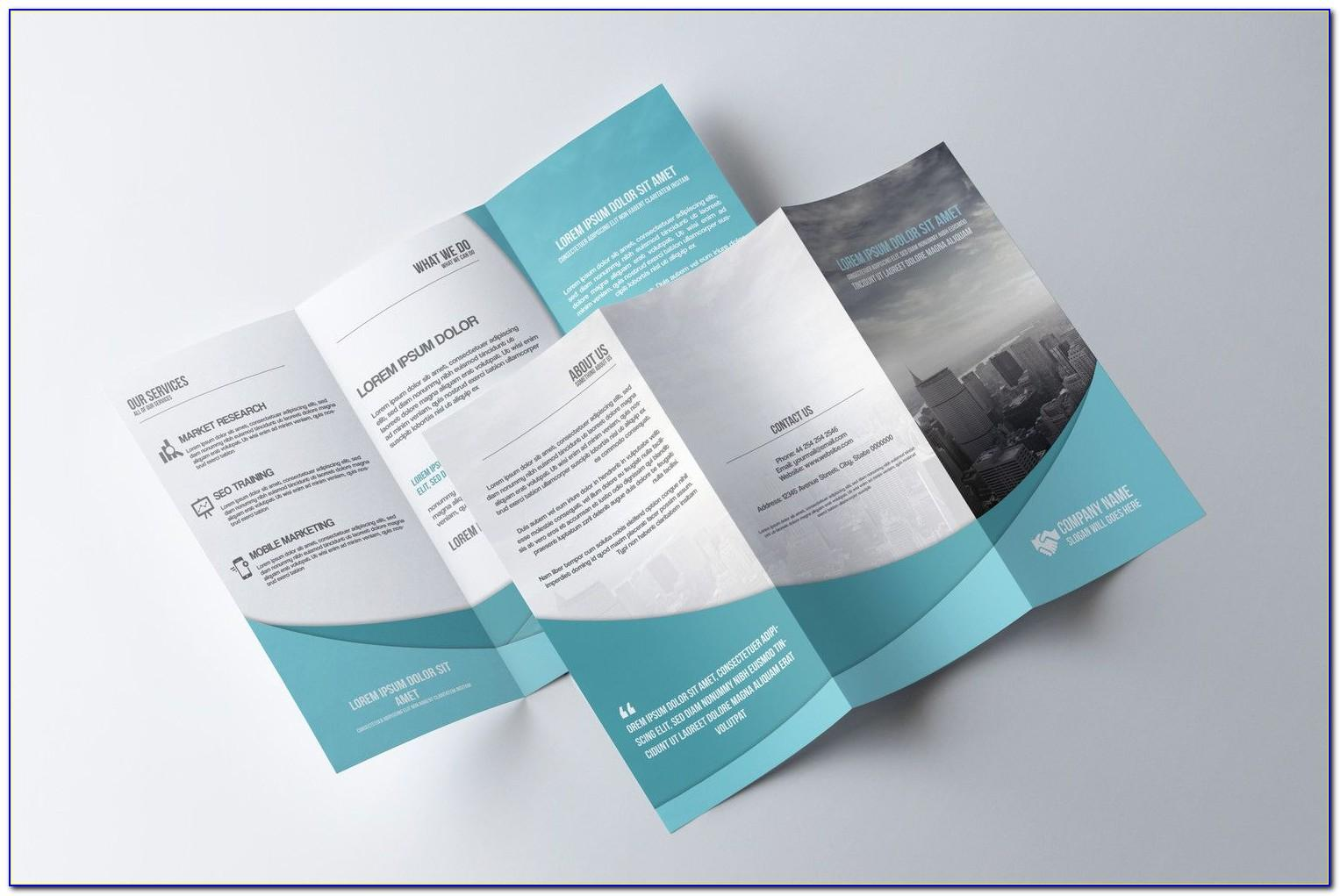 Free Tri Fold Brochure Template Indesign Mac