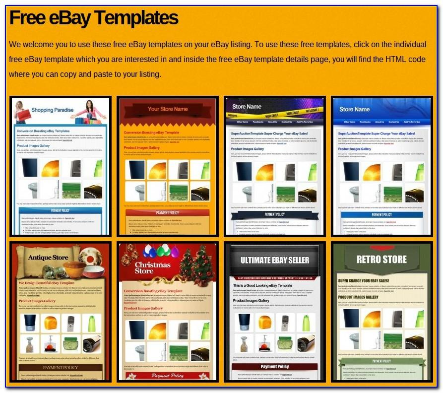 How To Create Templates For Ebay Listings