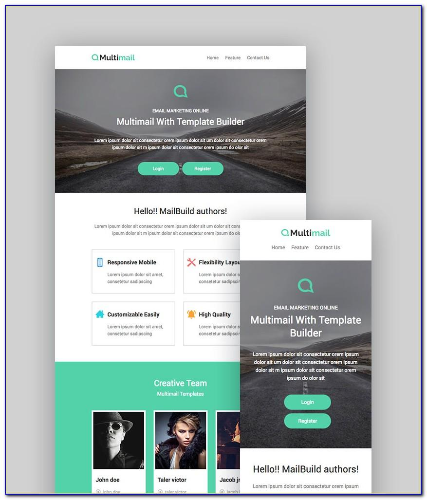 Html Code For Mailchimp Template