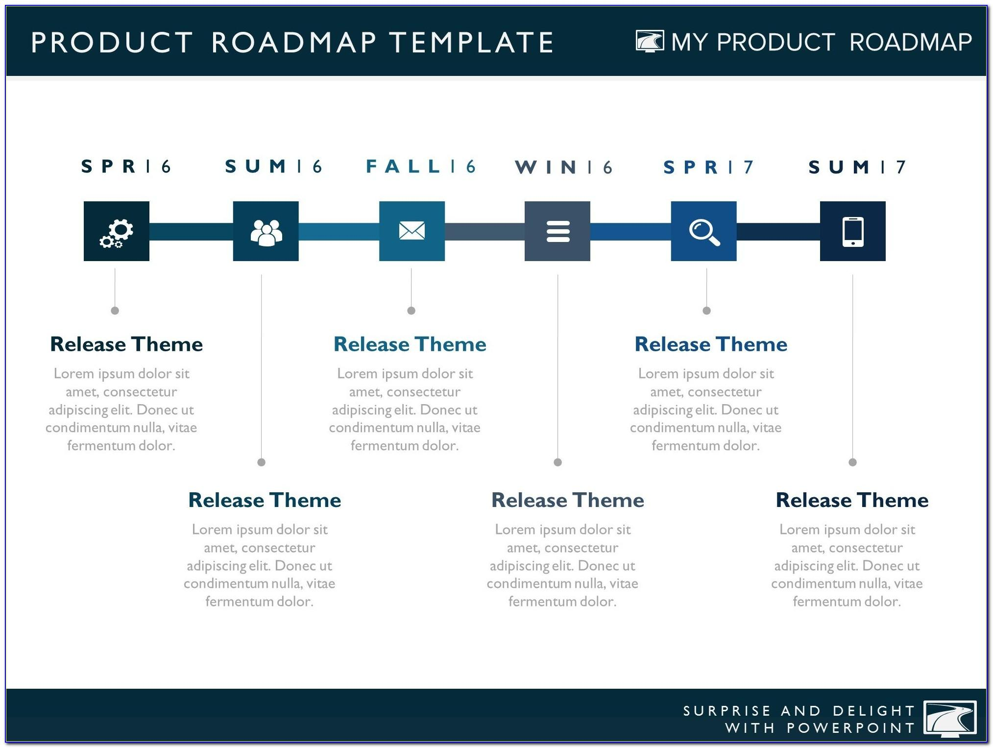 Information Technology Roadmap Template Excel