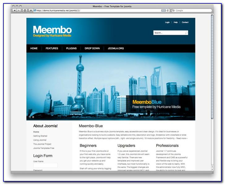 Joomla Templates 2.5 Free Download