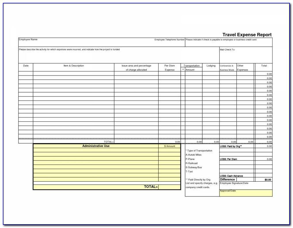 Leave Tracking Spreadsheet Template Excel