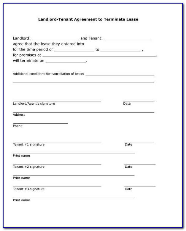 Ontario Landlord Tenant Lease Agreement Form