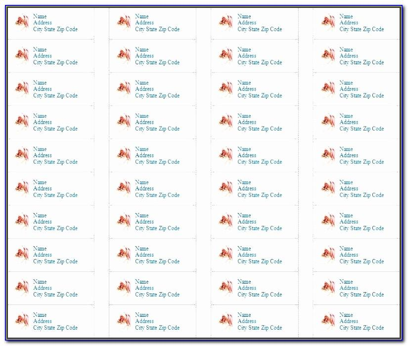 Pages Template For Return Address Labels