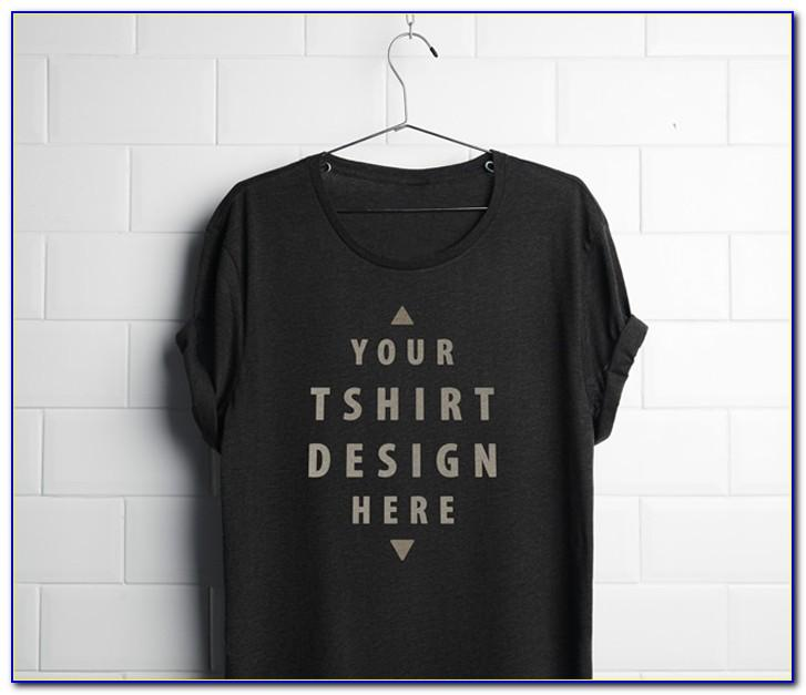 Plain T Shirt Template Psd Free Download
