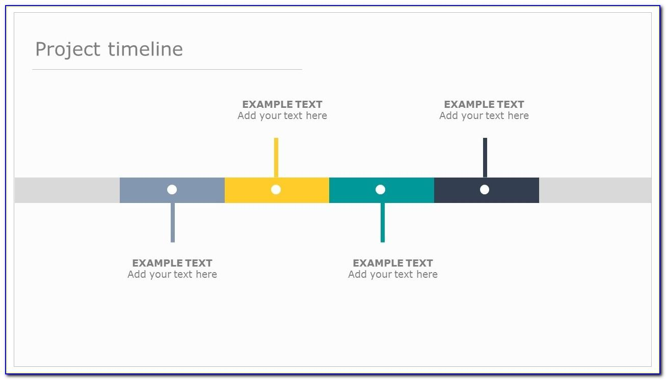 Powerpoint Presentation Timeline Template Free