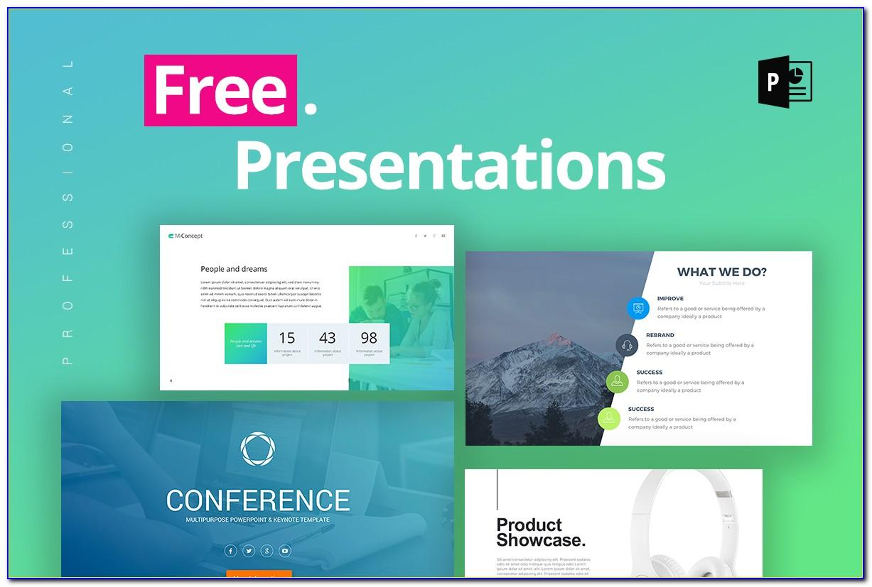 Powerpoint Template For Project Presentation