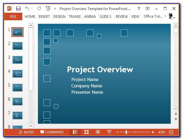 Powerpoint Templates For Project Presentation Free