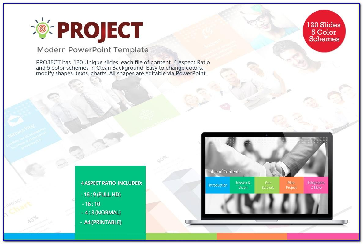 Ppt Templates For College Project Presentation