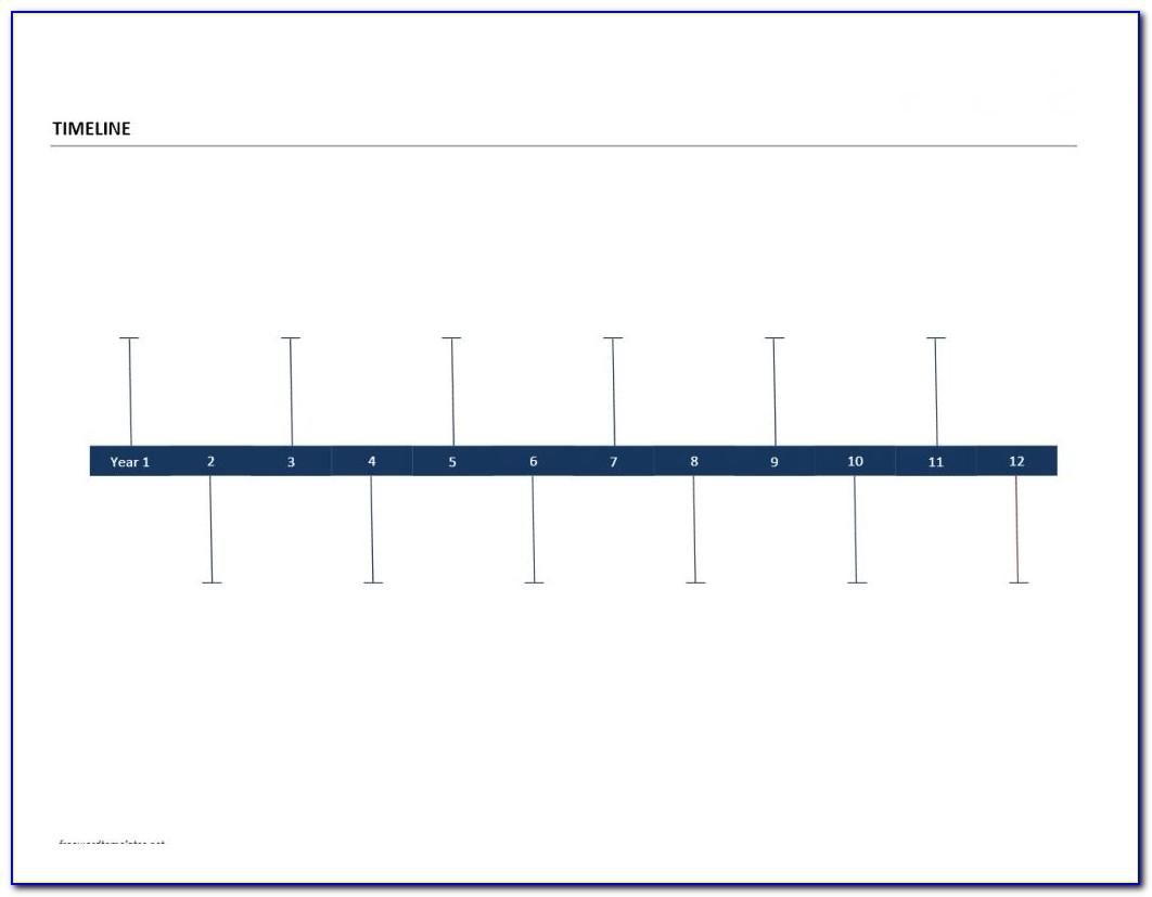 Project Timeline Chart Template Excel
