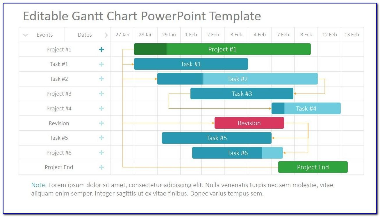 Project Timeline Gantt Chart Template