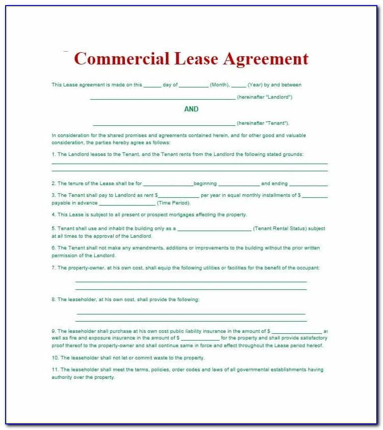 Residential Lease Agreement Uk Sample