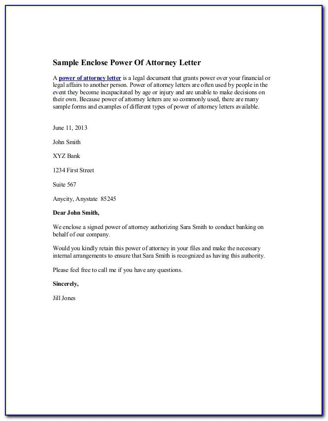 Sample Power Of Attorney Indian Consulate