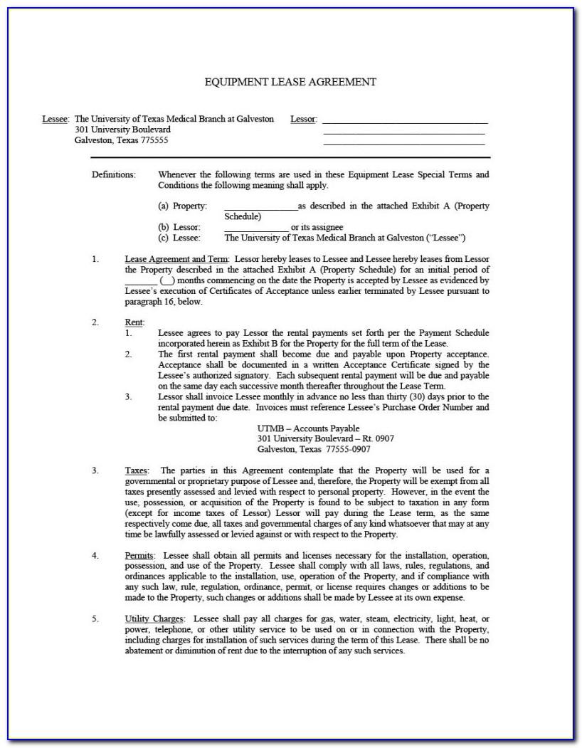 Sample Residential Lease Agreement California