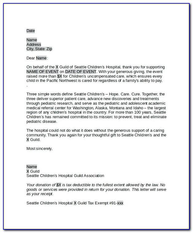 Sample Thank You Letter For Book Donation To Library
