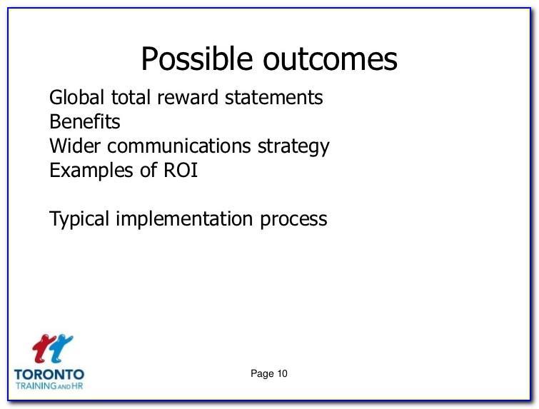 Sample Total Rewards Philosophy Statement