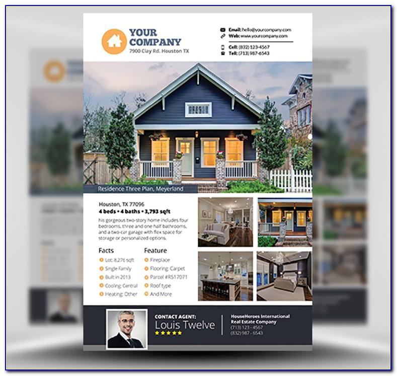 Samples Of Real Estate Brochures