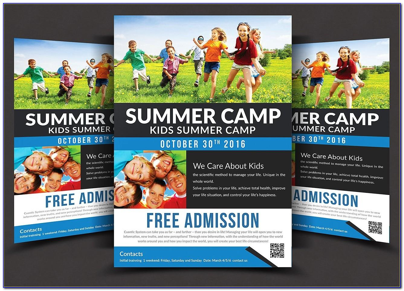 Summer Dance Camp Flyer Template