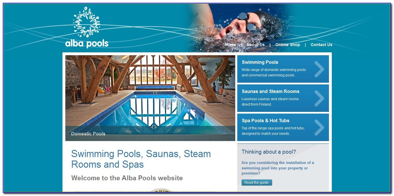 Swimming Pool Website Templates Free
