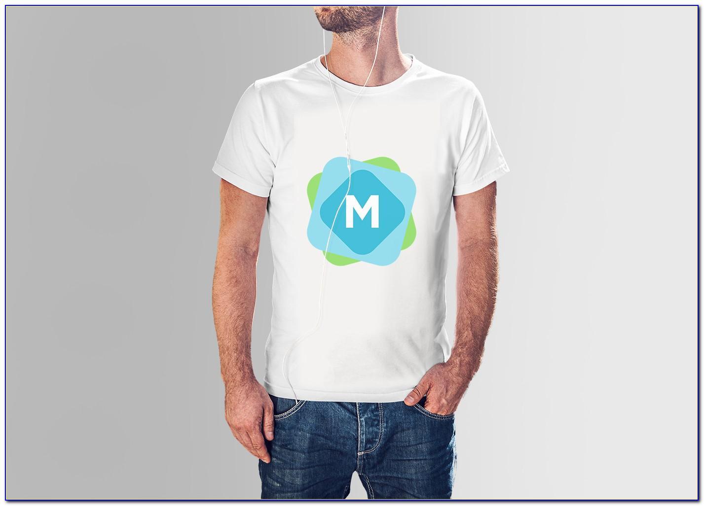 T Shirt Design Mockup Psd Free Download