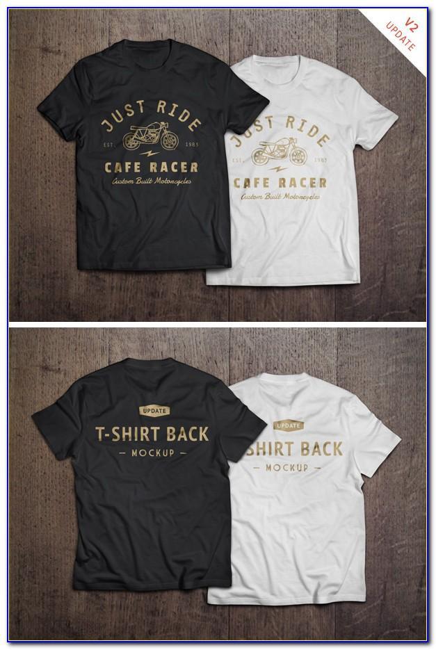 T Shirt Design Mockup Psd Free