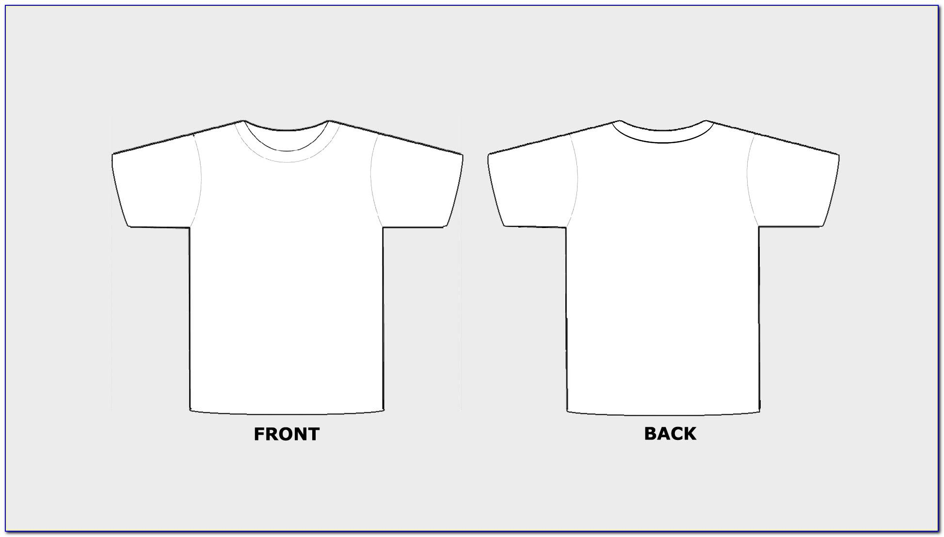 T Shirt Design Template Photoshop Psd