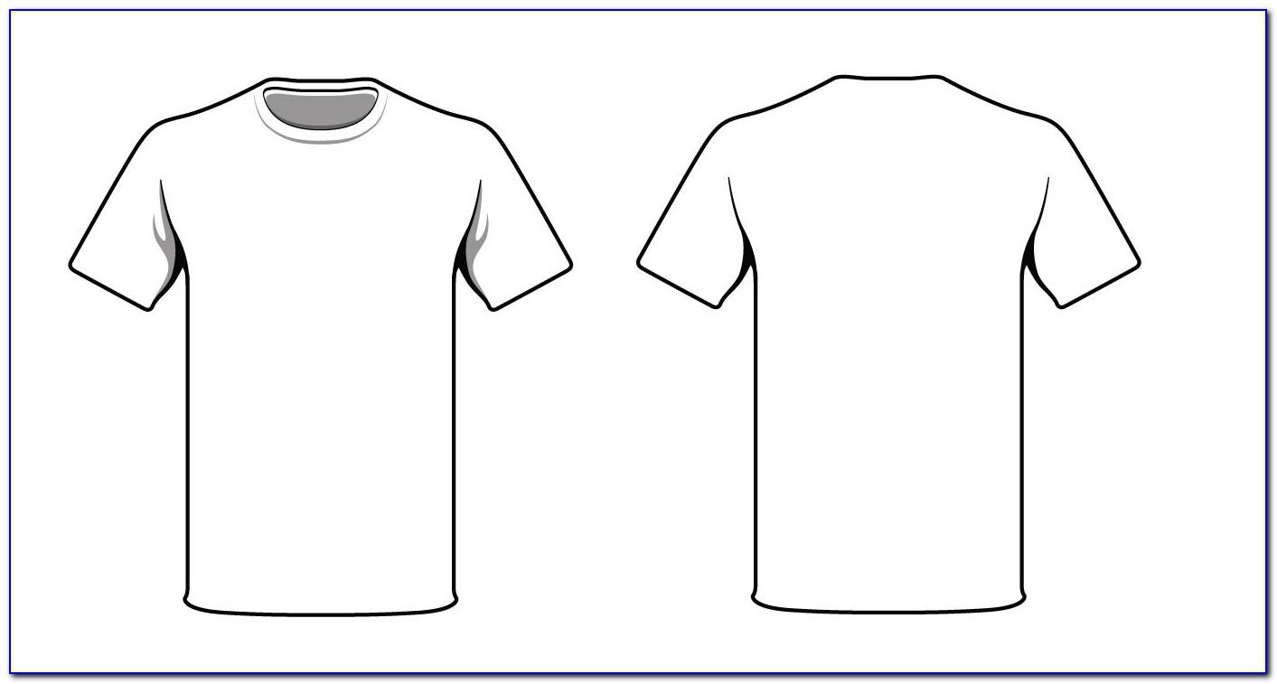 T Shirt Printing Template Photoshop