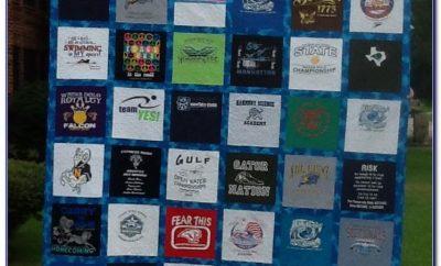 T Shirt Quilt Instructions For Beginners