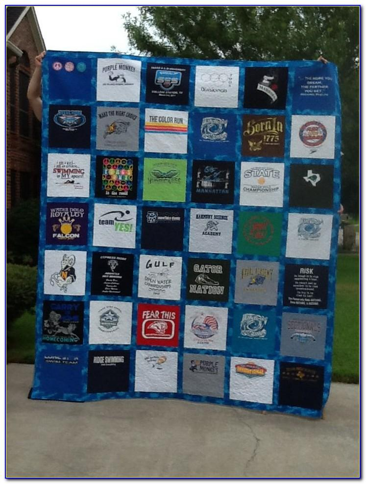 T Shirt Quilt Instructions For Beginners