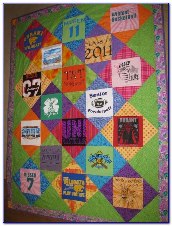 T Shirt Quilt Pattern Book