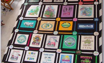 T Shirt Quilt Patterns For Beginners