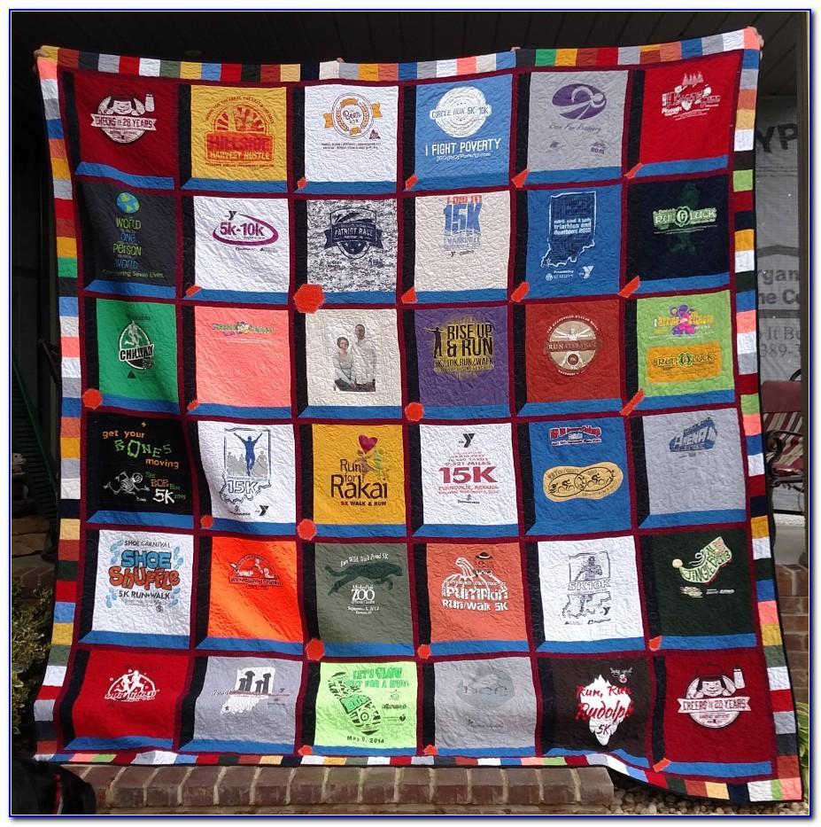 T Shirt Quilt Patterns Instructions