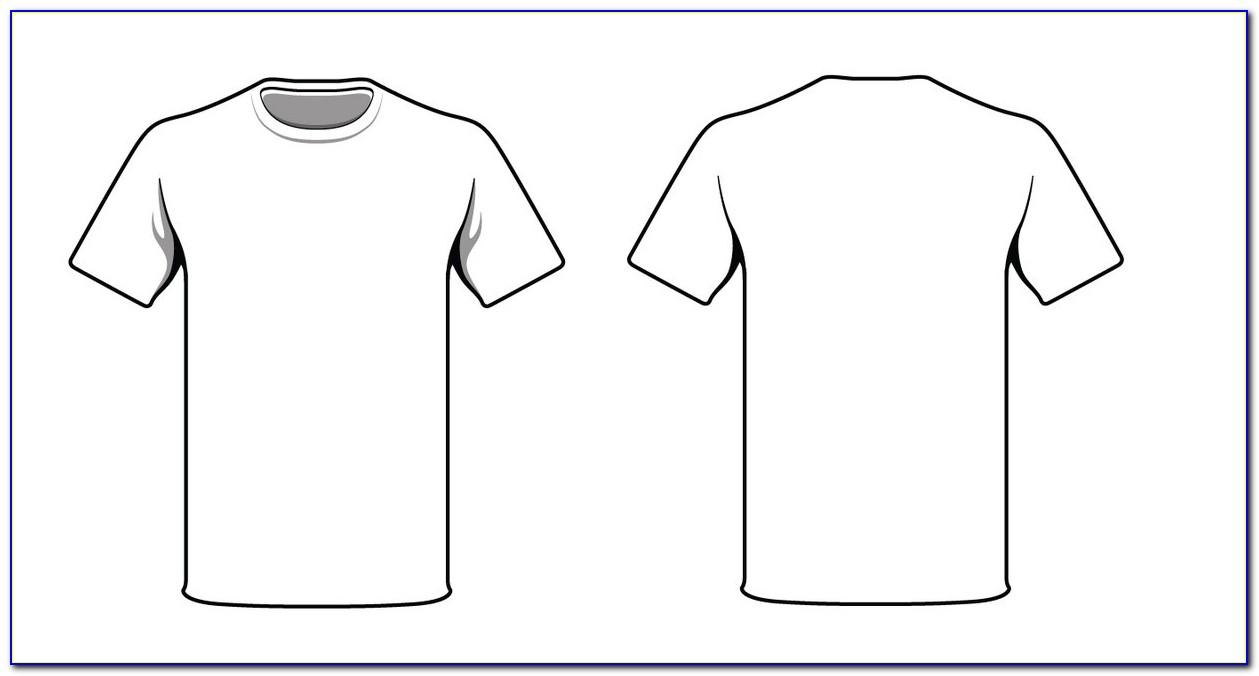 T Shirt Template Photoshop Deviantart