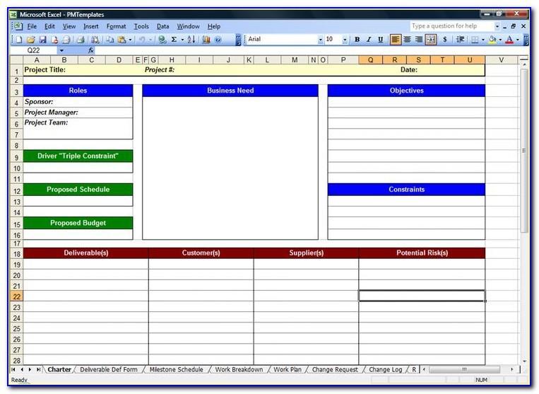 Task Planning Spreadsheet Templates