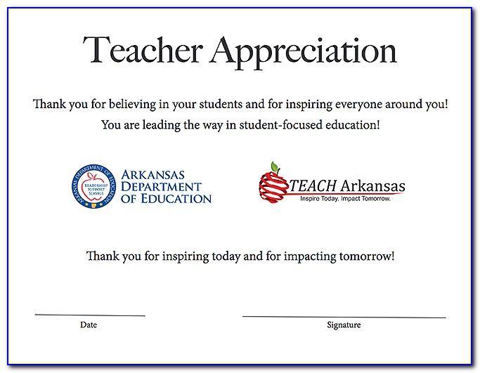 Teacher Cv Template Free Download