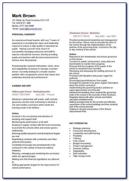 Teacher Formal Observation Lesson Plan Template