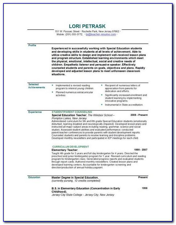 Teacher Observation Lesson Plan Template