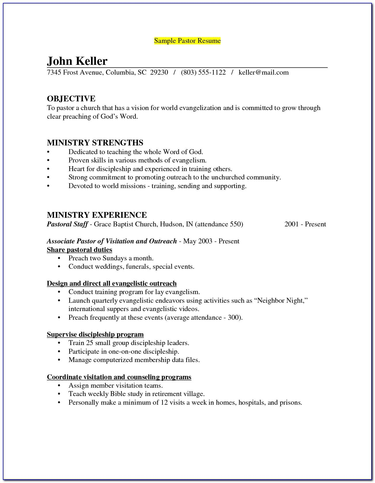 Teenage Resume No Work Experience Template