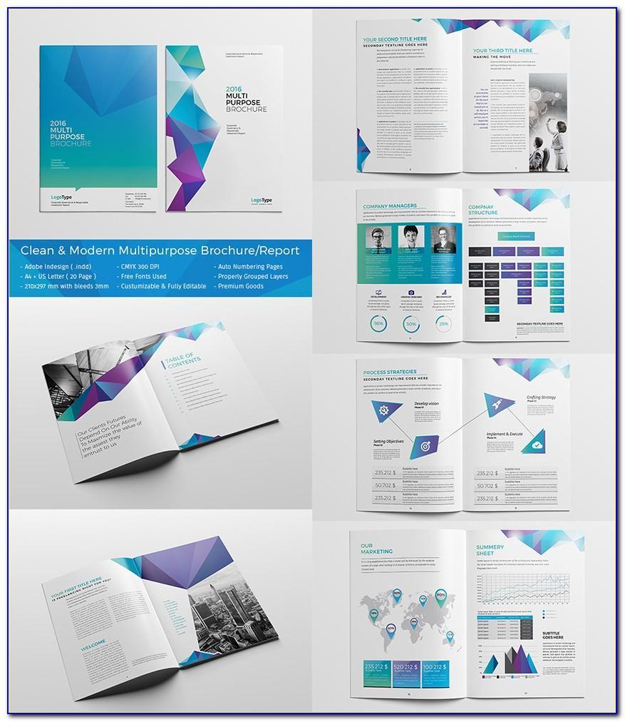 Template Brochure Indesign Download