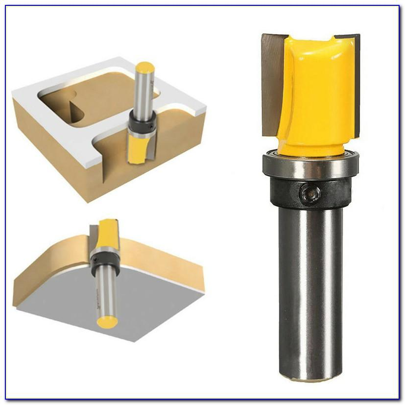 Template Cutting Router Bits
