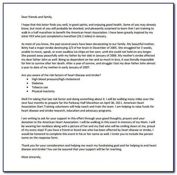 Template Donation Request Letter School
