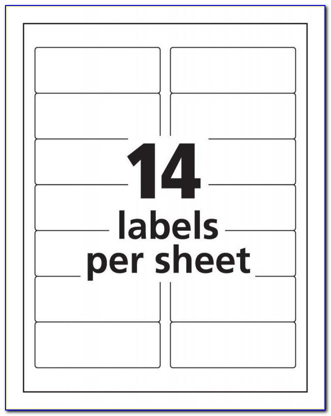 Template For Address Labels Free