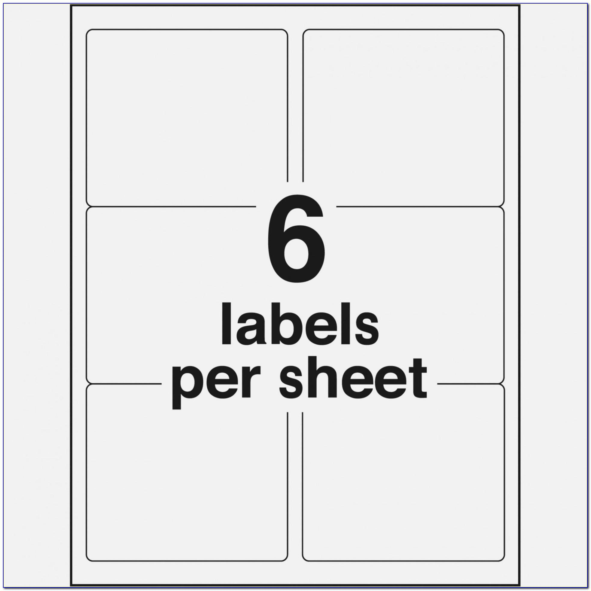Template For Avery Mailing Labels 8160